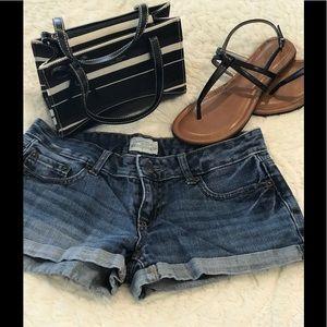 Aeropostale denim jean shorts